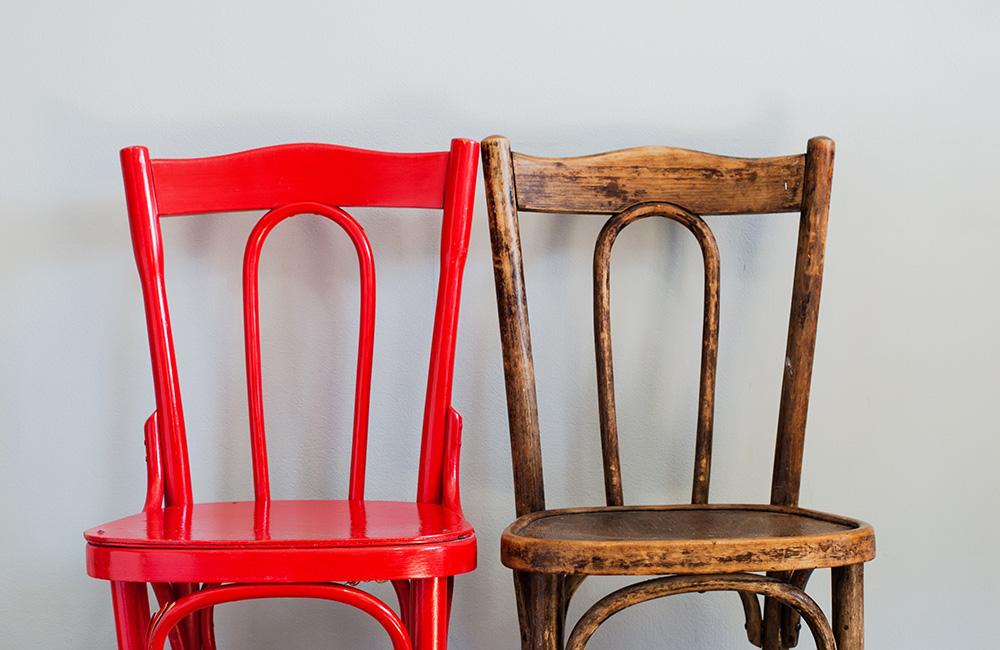 Старинное кресло своими руками
